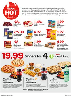 Hy-Vee catalogue ( Expires today )