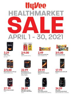 Hy-Vee catalogue ( 14 days left )
