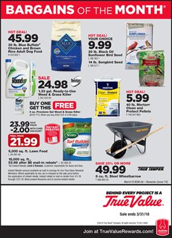 True Value deals in the Fontana CA weekly ad