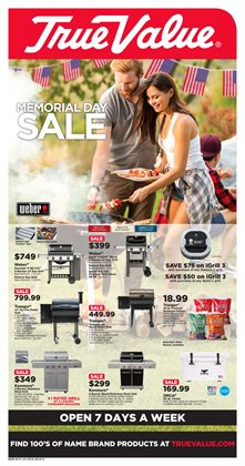 Tools & Hardware deals in the True Value weekly ad in Middletown OH