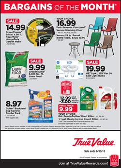 Tools & Hardware deals in the True Value weekly ad in Humble TX