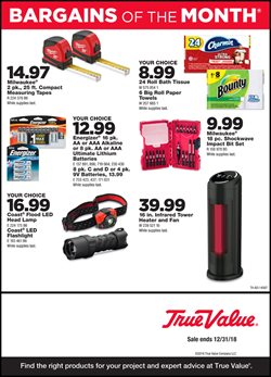 Tools & Hardware deals in the True Value weekly ad in Fontana CA