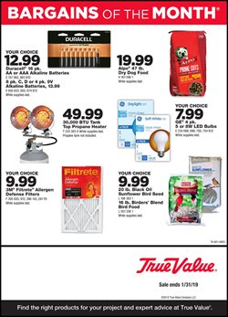 Tools & Hardware deals in the True Value weekly ad in Hamilton OH