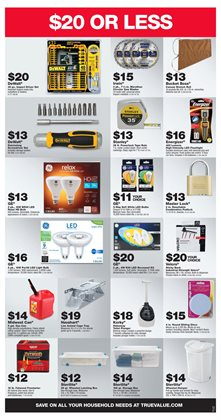 Saw deals in the True Value weekly ad in Concord NC