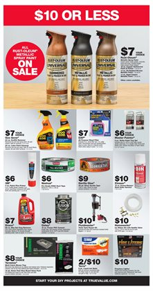 Paint deals in the True Value weekly ad in Ontario CA