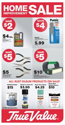 Paint deals in the True Value weekly ad in Phoenix AZ