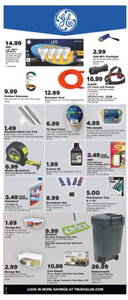Flooring deals in the True Value weekly ad in New York