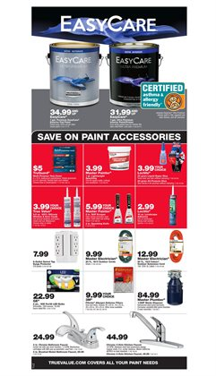Paint deals in the True Value weekly ad in Sioux Falls SD