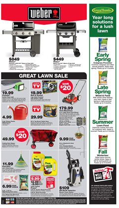 Plants deals in the True Value weekly ad in New York