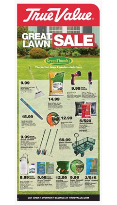 Tools & Hardware deals in the True Value weekly ad in Bothell WA