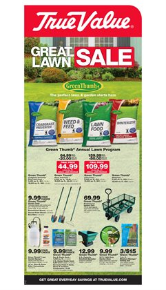 Tools & Hardware deals in the True Value weekly ad in Van Nuys CA