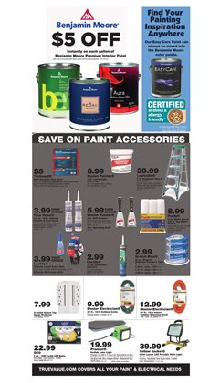 DIY deals in the True Value weekly ad in New York