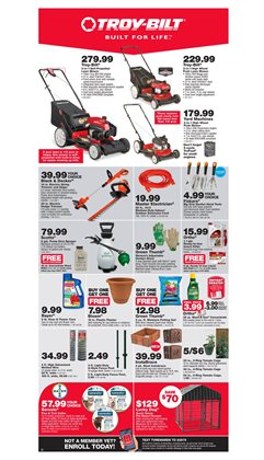 Saw deals in the True Value weekly ad in Redding CA