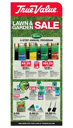 Tools & Hardware deals in the True Value weekly ad in Paterson NJ