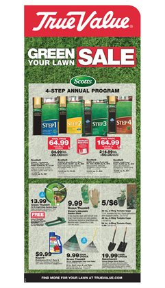 Garden deals in the True Value weekly ad in Schenectady NY