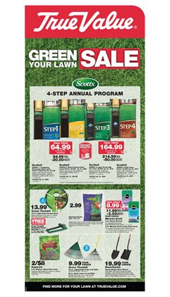 Tools & Hardware deals in the True Value weekly ad in Schenectady NY