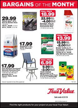True Value deals in the Highlands TX weekly ad