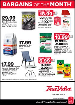 Tools & Hardware deals in the True Value weekly ad in Stone Mountain GA