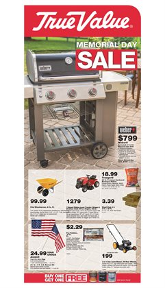 Tools & Hardware deals in the True Value weekly ad in Pontiac MI