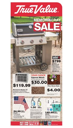 Tools & Hardware deals in the True Value weekly ad in Concord NC