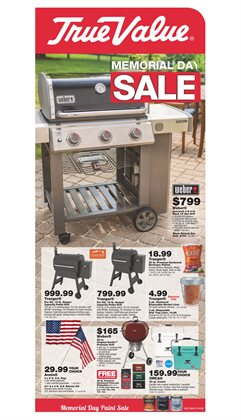Tools & Hardware deals in the True Value weekly ad in Hot Springs National Park AR