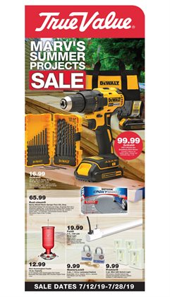 Tools & Hardware deals in the True Value weekly ad in Minneapolis MN