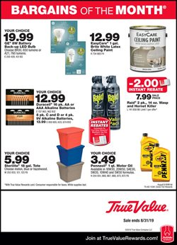 Tools & Hardware deals in the True Value weekly ad in Roswell GA