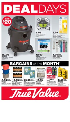 Tools & Hardware deals in the True Value weekly ad in Dallas TX