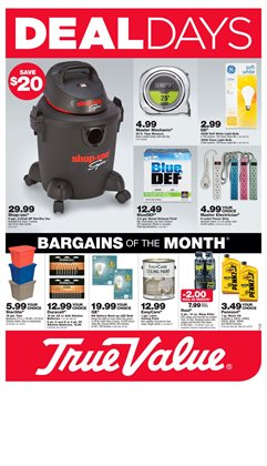 Tools & Hardware deals in the True Value weekly ad in Newark OH