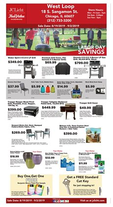 Tools & Hardware deals in the True Value weekly ad in Chicago IL