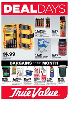 Tools & Hardware deals in the True Value weekly ad in Reading PA