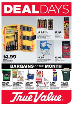 True Value deals in the San Francisco CA weekly ad