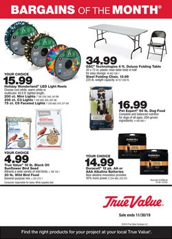 Tools & Hardware deals in the True Value weekly ad in Long Beach CA