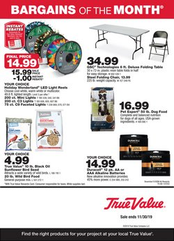 Tools & Hardware deals in the True Value weekly ad in Ann Arbor MI
