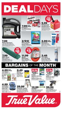 Tools & Hardware offers in the True Value catalogue in Cambridge MA ( Expires tomorrow )