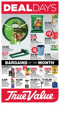 Tools & Hardware offers in the True Value catalogue in Montebello CA ( 20 days left )