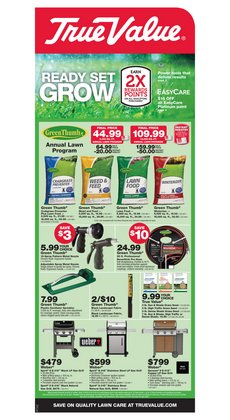 Tools & Hardware offers in the True Value catalogue in Easton PA ( 6 days left )