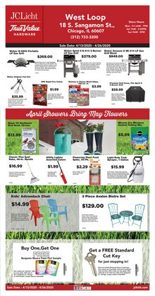 Tools & Hardware offers in the True Value catalogue in Chicago IL ( 1 day ago )