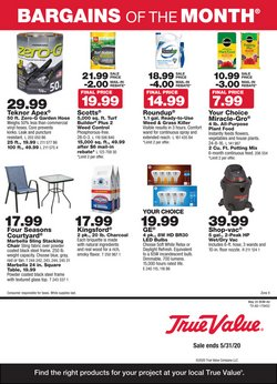 Tools & Hardware offers in the True Value catalogue in El Cajon CA ( 3 days left )