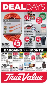 Tools & Hardware offers in the True Value catalogue in San Ramon CA ( 2 days left )