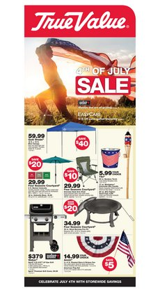 Tools & Hardware offers in the True Value catalogue in Torrance CA ( 5 days left )