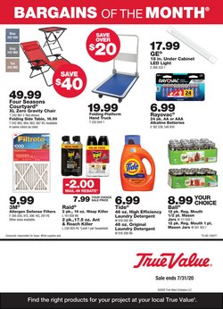 Tools & Hardware offers in the True Value catalogue in Henderson NV ( 26 days left )