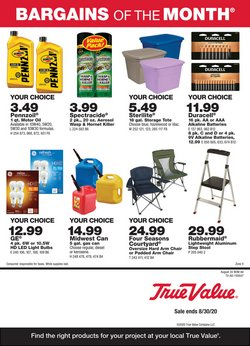 Tools & Hardware offers in the True Value catalogue in Los Angeles CA ( 18 days left )