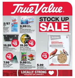 Tools & Hardware offers in the True Value catalogue in Alhambra CA ( 3 days ago )