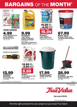 Tools & Hardware offers in the True Value catalogue in Chula Vista CA ( 8 days left )
