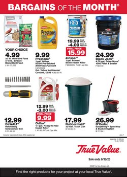 Tools & Hardware offers in the True Value catalogue in Livonia MI ( 12 days left )