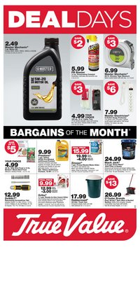 Tools & Hardware offers in the True Value catalogue in Livonia MI ( 9 days left )