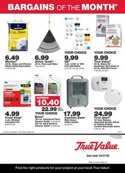 Tools & Hardware offers in the True Value catalogue in Pomona CA ( 10 days left )