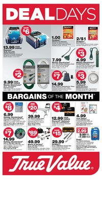 Tools & Hardware offers in the True Value catalogue in Lincolnwood IL ( Expires today )