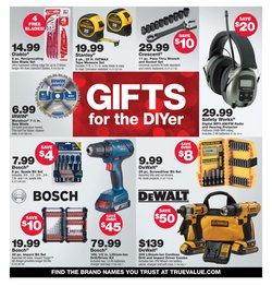 Makita deals in True Value